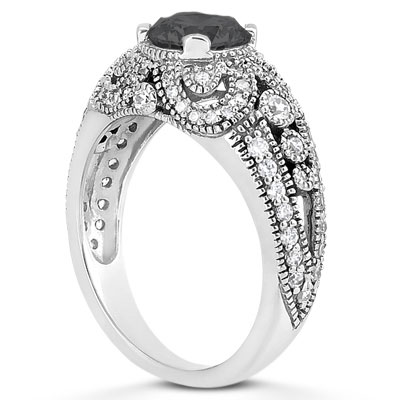 Vintage Style Engagement Ring ...
