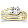 Love's Embrace Diamond Bridal Ring Set