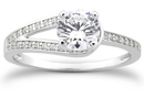 1/2 Carat Love's Embrace Diamond Engagment Ring