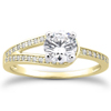 Love's Embrace Engagement Ring