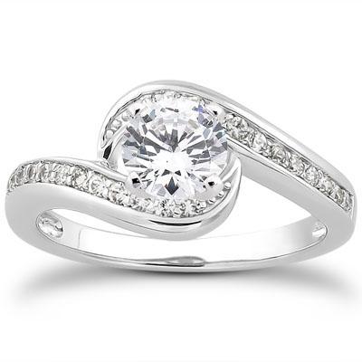 Swirl Enement Rings | Diamond Swirl Ring New Image Ring Aintnoneed Org