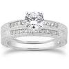 Antique Style Diamond Bridal Set