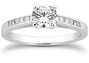 0.67 Carat Classic Diamond Engagement Ring