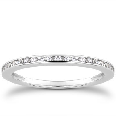 0.21 Carat Channel Set Diamond Band