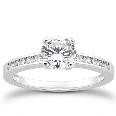 1/2 Carat Diamond Traditional Engagement Ring