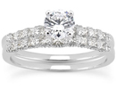0.67 Carat Classic Diamond Engagement Set