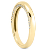 Side Accent Diamond Wedding Band
