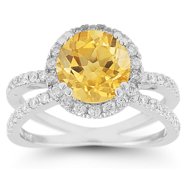 ring and diamond from citrine michaels lee jubilee collection