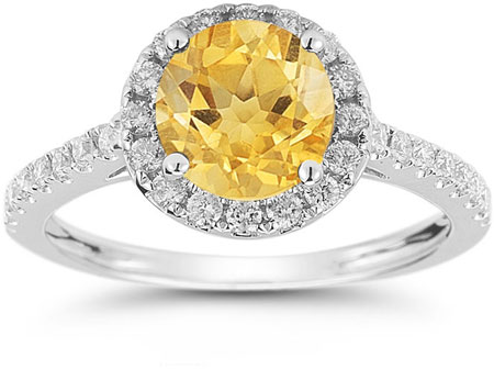 new citrine yellow ladies cushion arrivals gold ring cut diamond shop statement