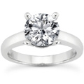 1 Carat Classic Diamond Solitaire Engagement Ring