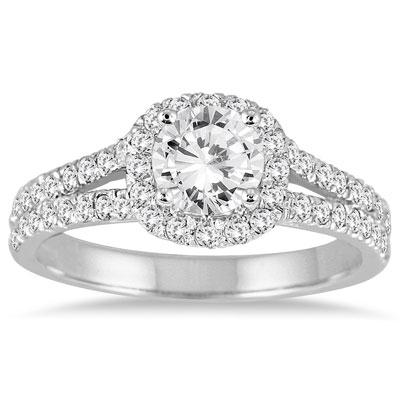 Engagement | Diamond | White | Ring | Gold