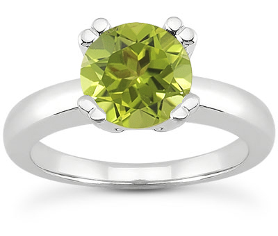 Peridot Rings from Simple to Epic