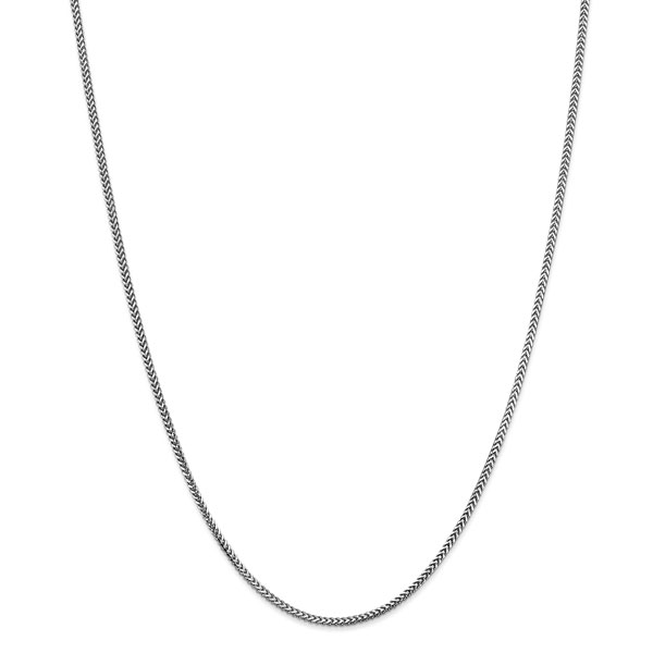 14K Gold Franco Chain Necklaces for Men