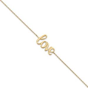 14K Gold Love Bracelet