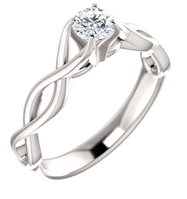 symbol stunning wedding rings