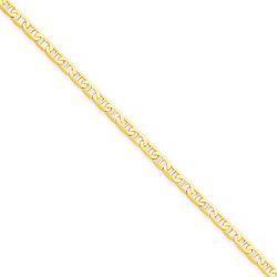 14K Gold Anchor Chain Anklet