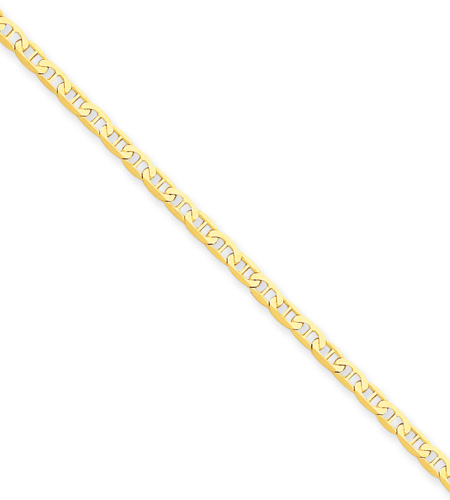 14K Gold Anchor Chain Anklet