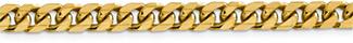6mm Miami Cuban Link Bracelet, 14K Solid Gold