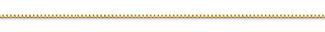 14K Gold Box Chain (0.55mm)