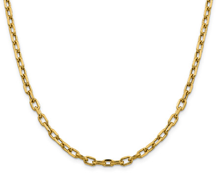4.9mm Cable Chain Necklace in 14K Gold, 20