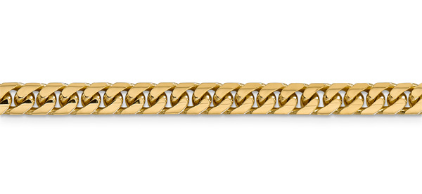 5.5mm Miami Cuban Link Bracelet, 14K Gold