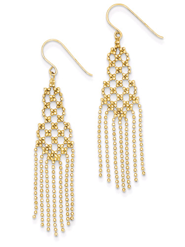 Chandelier Earrings in 14K Gold