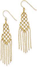 Chandelier Earrings in 14K Gold
