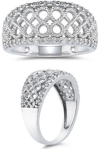 Diamond Infinity Ring, 0.30 Carats