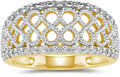 Diamond Infinity Design Ring, 0.30 Carats