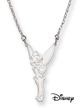 Tinkerbell Necklace, Sterling Silver