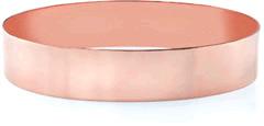 14K Rose Gold Flat Bangle Bracelet, 15mm (5/8