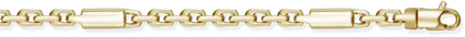 Buy Barrel Link Design Chain, 14K Yellow Gold