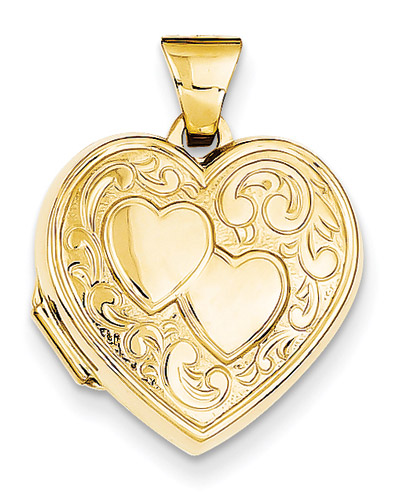dp heart engraved gold white quot com locket lockets amazon