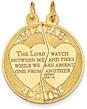 2-Piece Mizpah Coin Pendant in 14K Gold