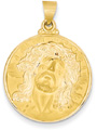 Christ Medallion, 14K Gold