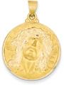 Christ Medallion, 14K Gold
