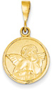Angel Jewelry Pendant, 14K Yellow Gold