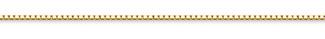 14K Gold Box Chain (1.2mm)