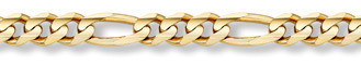 Buy 14K Gold 11mm Figaro Link Chain