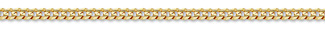 14K Gold 4mm Curb Link Chain