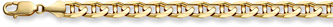14K Gold 8.5mm Mariner Link Bracelet