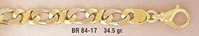 14K Gold Figaro Design Bracelet