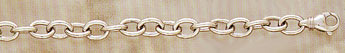 14K White Gold Men's Connect Bracelet