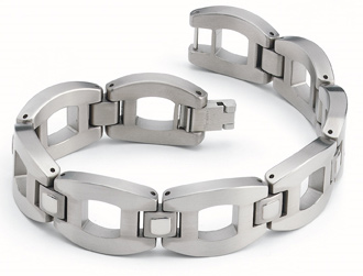Titanium Bracelet - The Arca by Forza Tesori