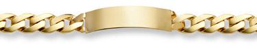 Design Link ID Bracelet - 14K Gold