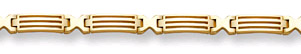"Buy 14K Gold ""Bridge"" Design Bracelet"