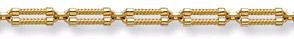 Balance Design 14K Gold Bracelet
