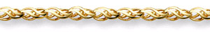 14K Yellow Gold Weave Bracelet