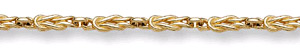 Celtic Love Knot Gold Bracelet - 14K