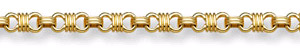 Design 14K Gold Bracelet